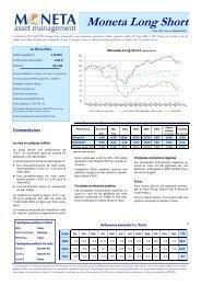 Lettre Novembre 2011 - Moneta Asset Management