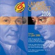 vokalmusik zur zeit mozarts 9. – 10. juni 2006 salzburg - Chor.at