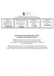 Doporučený postup diagnostiky a léčby potápěčské dekompresní ...