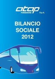 BILANCIO SOCIALE 2012 - Atap