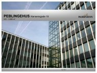 PEBLINGEHUS Nansensgade 19 - Norrporten