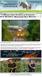 I Hear the Train a Comin' .. It's Rollin' Round the Bend... - Middlesex ...