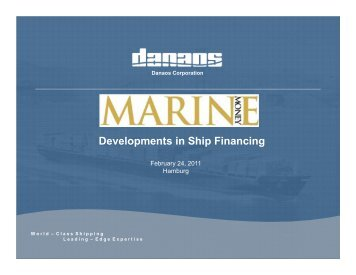 Danaos Presentation.pdf - Marine Money