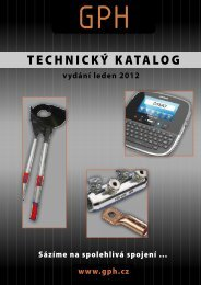 TECHNICKÝ KATALOG - Nexans Power Accessories Germany GmbH
