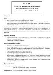 Urgences et soins intensifs cardiologiques - Formation médicale ...