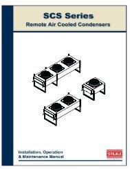 SCS Condenser IOM 10-24-07 am.pmd - Stulz Air Technologies Inc.