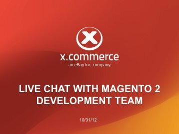 Copy of the PowerPoint Presentation - Magento