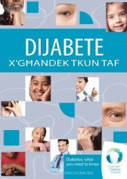 dijabete - Australian Diabetes Council