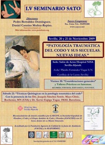 Programa definitivo - Sociedad Andaluza de Traumatología y ...