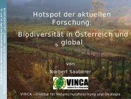 Vortrag als pdf - AECC-Bio - Universität Wien