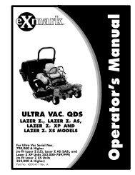ULTRA VAC QDS - Exmark