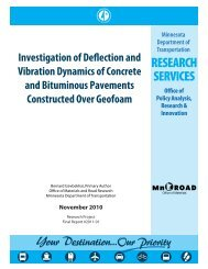 Investigation of Deflection and Vibration Dynamics of Concrete and ...