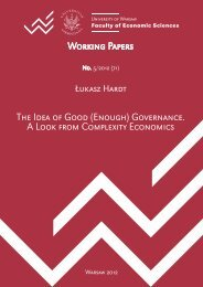 Working Papers The Idea of Good (Enough) Governance. A Look ...