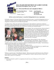 Ed Kee: - Delaware Department of Agriculture