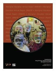 Aboriginal Education Annual Report 2008/09 • Aboriginal Education ...