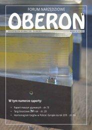 numer 04 (45) 2010 - Forum Narzędziowe Oberon