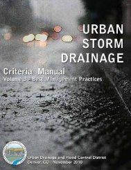 Denver CO Urban Storm Drainage Criteria Manual - Pima County ...