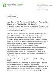 PM Neues Zentrum für Plastischen, Ästhetische und Rekonstruktive