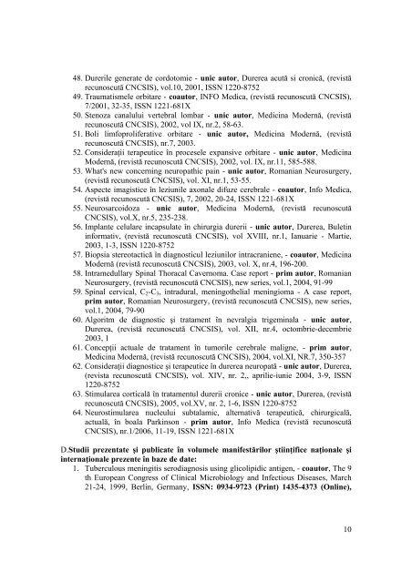 Prof. Univ. Dr. Iacob Gabriel - Asociatia Romana pentru Studiul Durerii