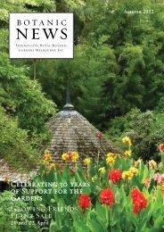 Autumn 2012 (PDF - 1.76 mb) - Royal Botanic Gardens Melbourne