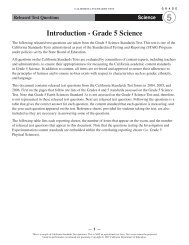 Grade 5 Science Released Test Questions - Standardized Testing ...