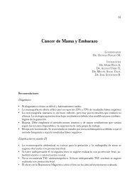 Cáncer de Mama y Embarazo - Sociedad Chilena de Mastología