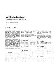 Koldingbegivenheder - Kolding Kommune
