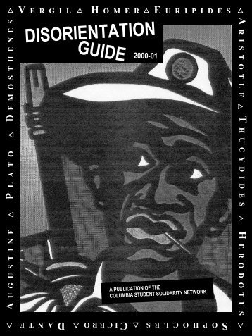 Download the 2000 Guide in PDF format - Columbia University