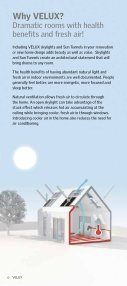 Residential Skylights & Sun Tunnel Skylights - Velux - Page 6