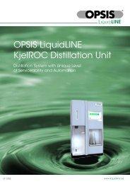 Kjeldahl Distillation Product Information - Fluidquip Australia