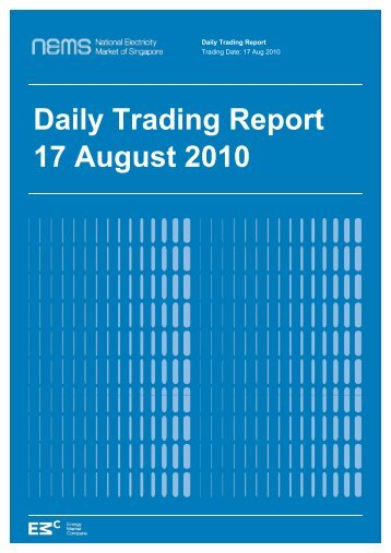 Daily Trading Report 17 August 2010 - EMC