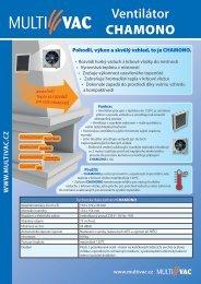 Ventilátor CHAMONO - Krbová kamna, krbové vložky, krby