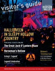 hallOween in sleePY hOllOw COunTRY - Historic Hudson Valley