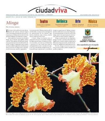 Minga Teatro Arte Música Botánica - Ciudad Viva