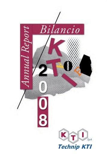 2008 - Annual Report (short version) - Technip KTI
