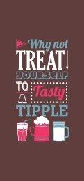 Drink menu - Beefeater