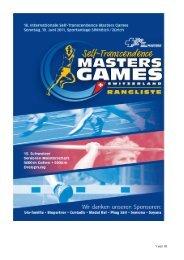 Rangliste Masters Games 2011 - Sri Chinmoy Marathon Team ...