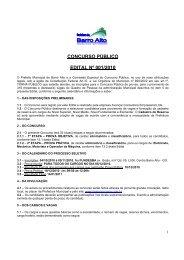 concurso público edital nº 001/2010 - Coweb - Soluções On-line