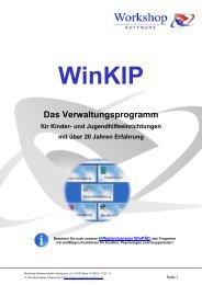 Info zu WinKIP - Workshop Software GmbH