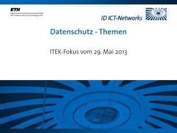 Fokus Datenschutz Summary - ITEK