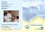 Miteinander - Füreinander Klinikleitung - Privatklinik St. Stephan Wels