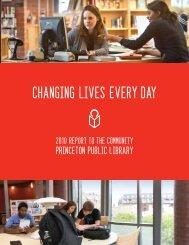 Centennial Weekend - Princeton Public Library