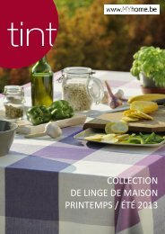collection de linge de maison printemps / été 2013 - Meyhui