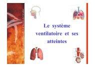 Définition du système ventilatoire - SDIS14