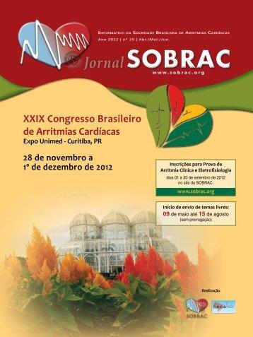 SOBRAC - Departamentos Científicos - Sociedade Brasileira de ...