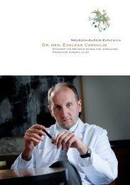 Dr. med. Evaldas Cesnulis - Neurochirurgie Zürich
