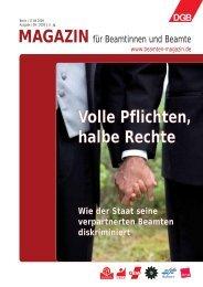 Ausgabe | 09 | 2009 - Landesbeamte