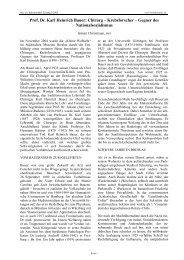 Prof. Dr. Karl Heinrich Bauer: Chirurg – Krebsforscher – Gegner des ...
