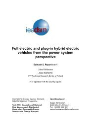 Full electric and plug-in hybrid electric vehicles from the