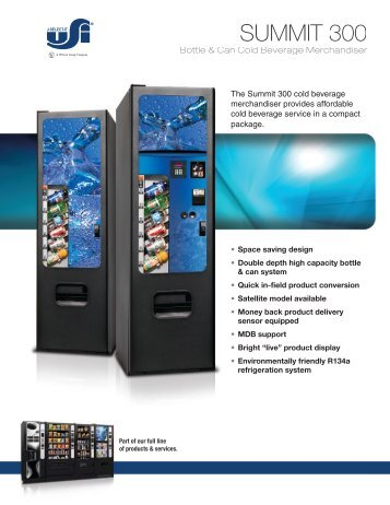 Summit 300 - Vencoa Vending Machines